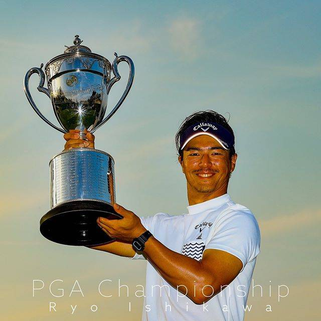 """JGTO  男子プロゴルフツアー on Instagram: """"まさか日本プロというメジャーで、こんなに早く自分が勝つ日が来るとは思っていなかったですけど、シンガポールからコツコツ取り組んでいる事というか集中力を高めてきて、それで日本プロで勝つことが出来たんだと思います。 #石川遼 #日本プロゴルフ選手権 #ryoishikawa…"""" (646724)"""