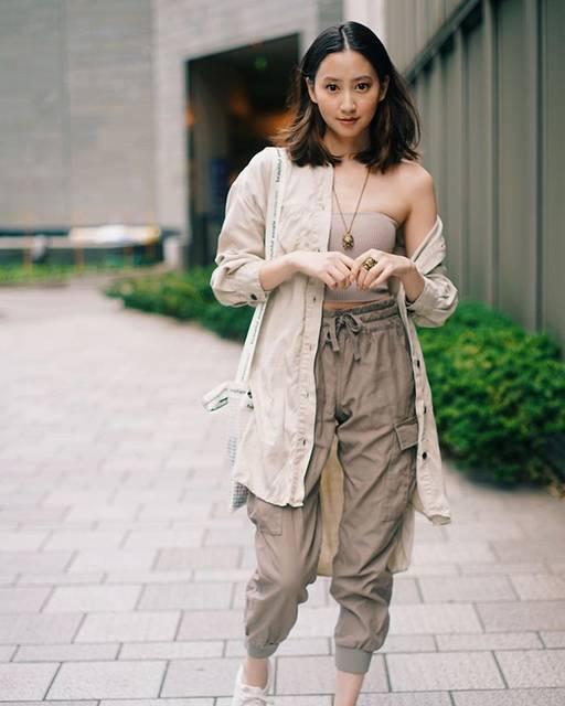 "Mayuko Kawakita 河北麻友子 on Instagram: ""FASHIONTUBE TOP: Aritzia SHIRT: ZaraCARGO PANTS: Aritzia SNEAKERS: NikeBAG: Beautiful People#FASHION #OOTD#麻友コーデ#MayuPics #麻友ぴく"" (648007)"