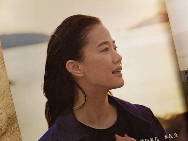 "@3156cat on Instagram: ""可愛いと綺麗の両面を持ってる。ずるい💕#蒼井優さん #frau"" (650113)"