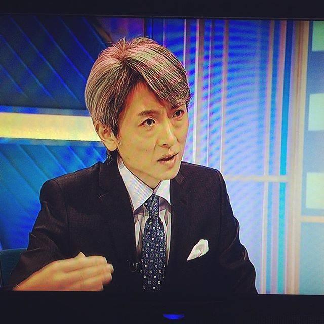 """Yuki Eclair on Instagram: """"まろ #麿 #かんさい熱視線 #NHK大阪 #登坂淳一 #登坂車線"""" (653058)"""