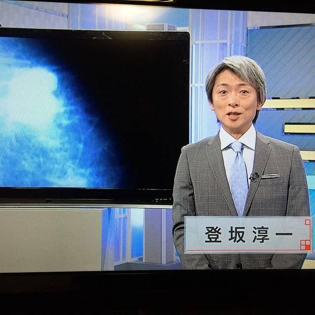 "Yuki Eclair on Instagram: ""#麿 #登坂淳一 #NHK大阪 #かんさい熱視線 #登坂車線"" (653071)"