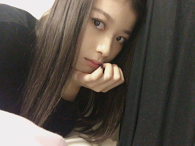 """馬場ふみか on Instagram: """".珍しくストレートな気分"""" (653429)"""