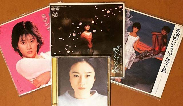 "Nobu Masuda on Instagram: ""On November 28th, Harada Tomoyo's birthday. Happily 50 years old . #今日の一曲 #原田知世 #時をかける少女 #早春物語 #天国にいちばん近い島 #恋愛小説 #vinyl  #vinylcolection…"" (655753)"
