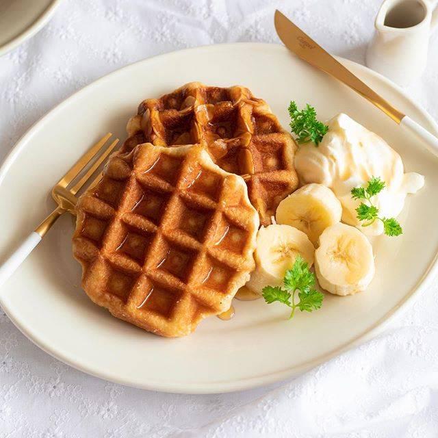 """Reiko Fujii(料理研究家・フードコーディネーター) on Instagram: """". 来月のパン教室はワッフルです😆 きっとみんな大好きなメープル味😍 ワッフルメーカーで焼いていきます😊 お楽しみにしていてください😆 . 最近あまりインスタ更新できておりませんが... ありがたいことに、 お仕事の試作や撮影で忙しい毎日です🍳 新しい出会いや、経験もできて…"""" (658832)"""