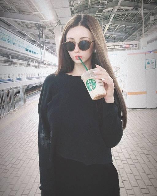 """ダレノガレ 明美 on Instagram: """"スタバと明美と新大阪。"""" (660879)"""