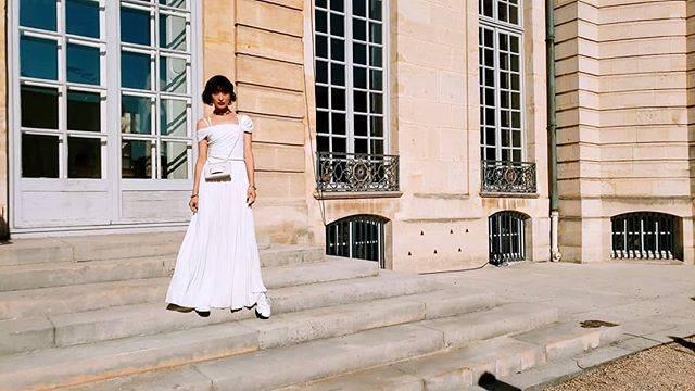 """山田優 on Instagram: """"@Dior #ディオール #DiorAW19 #MariaGraziaChiuri"""" (661108)"""