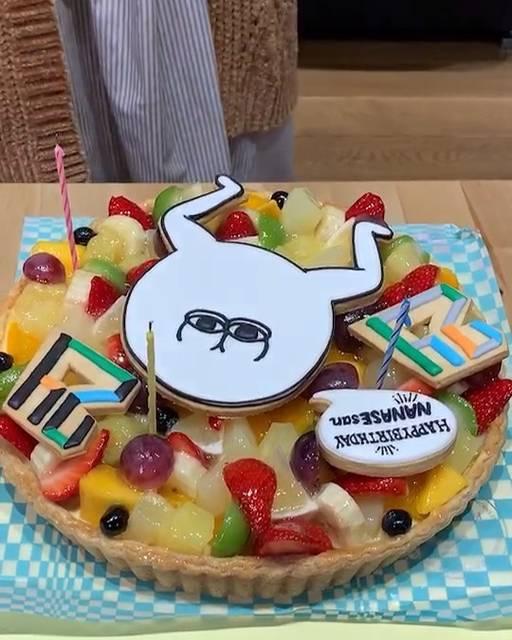 """にしのななせ on Instagram: """"10日 サクセス24のスタッフのみなさんから、お誕生日のお祝いケーキを頂きました✨ありがとうございます。最速です!@success_official_jp"""" (661329)"""