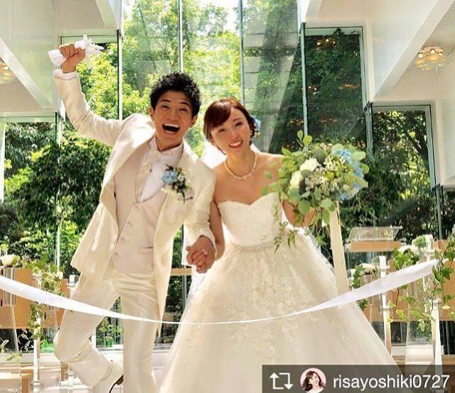"""大原 がおり on Instagram: """"Happy wedding🤵💓👰 今日は同じ事務所の吉木りさちゃんの結婚式に参列させて頂きました💖 全てが格好良い旦那様の和田正人さんと、全てが可愛くて素敵な吉木りさちゃんのお祝いに、沢山の素晴らしい方々が参列していて心温まりました😍💕 ☺︎ 本当に本当に素敵な時間でした💑💒✨…"""" (669287)"""