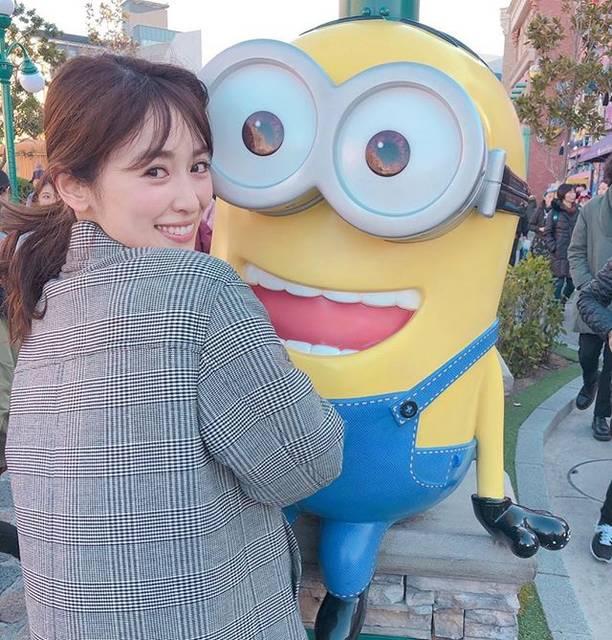 """泉 里香 on Instagram: """"USJ❣️#osaka#USJ#ミニオン#minion#minionpark"""" (678415)"""