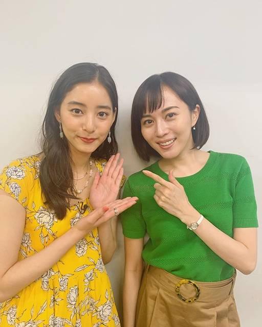 """新木優子 on Instagram: """"この間スタジオに行ったらいらっしゃると聞いて、、一目散に会いに行きました☺️相変わらず明るくて、綺麗で可愛くてたまりませんでした比嘉先輩☺️❤️"""" (680431)"""