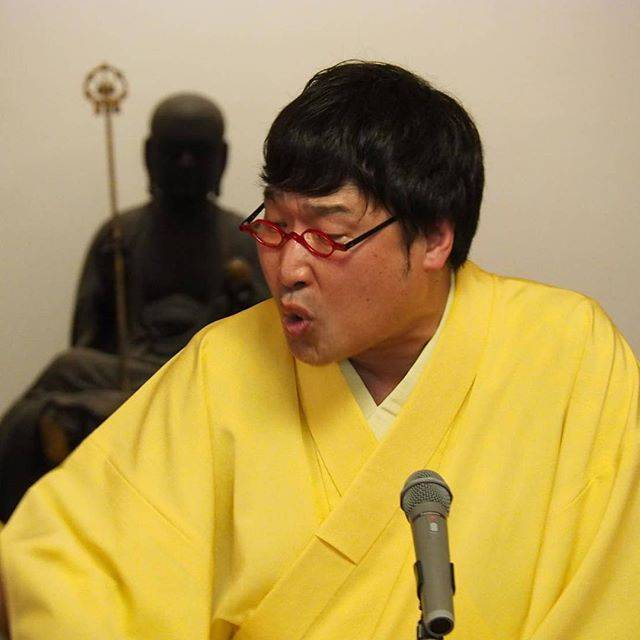 """山里亮太 on Instagram: """"三遊亭兼便でございます。本当に楽しい時間でした。仏様も優しく見守ってくれてました。"""" (680874)"""