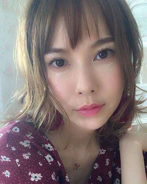 """Sakura Uehara on Instagram: """"髪の毛、更に短く切りました!もう洗うのと乾かすのが楽チン過ぎてやめられない😆#ボブ #ショートボブ #hairstyle"""" (682342)"""