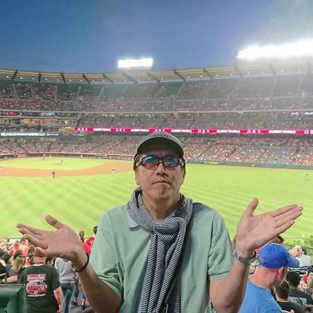 """石橋貴明 / Takaaki Ishibashi on Instagram: """"大谷君のいないアナハイム…。#石橋貴明#大谷翔平#MLB"""" (684495)"""