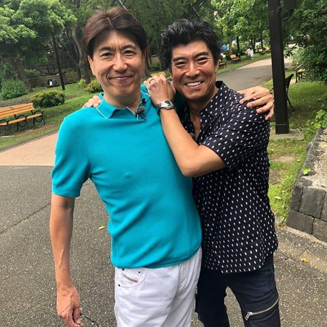 """石橋貴明 / Takaaki Ishibashi on Instagram: """"高嶋兄〜〜〜。今晩みてね。#石橋貴明#高嶋政宏#たいむとんねる#グルメ"""" (684506)"""