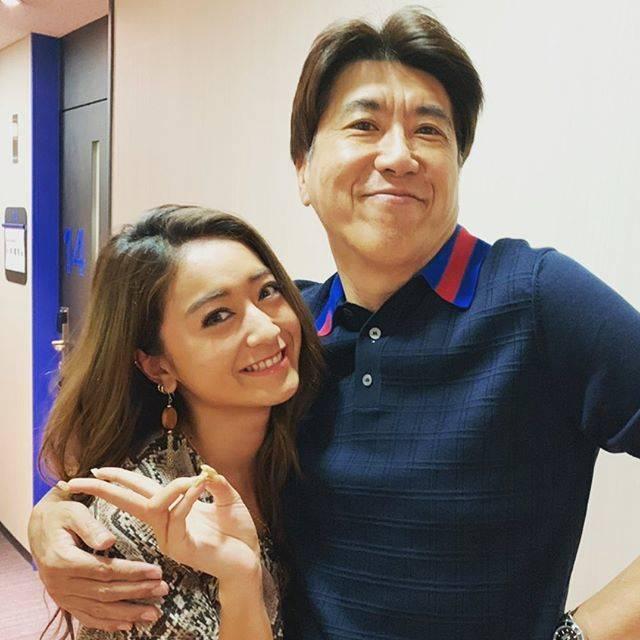 """石橋貴明 / Takaaki Ishibashi on Instagram: """"1人目のお友達 #みちょぱ #石橋貴明"""" (684521)"""