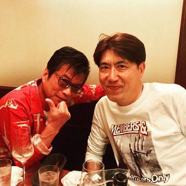 """石橋貴明 / Takaaki Ishibashi on Instagram: """"友達というより戦友。ガラガラヘビがやってくる2019...果たしてあるのか!? #石橋貴明 #後藤次利 #ガラガラヘビがやってくる #まぁ無いか"""" (684524)"""