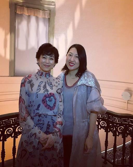 "Marcella Wong on Instagram: ""係東京遇上莉香啊!❤️#鈴木保奈美 #東京愛的故事 #柴門文 #氣質美人 #美麗不變 #佢keep得好好 #笑容依然燦爛 #好迷人 #GAcruise @armani #giorgioarmani"" (684539)"