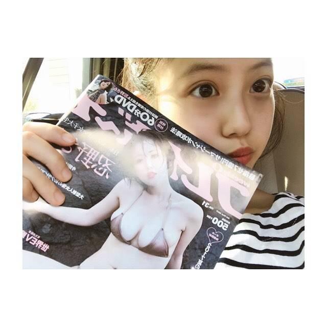 """今田美桜 on Instagram: """"***今日発売👣初めましてのグラビアでした。見てね〜〜"""" (692489)"""