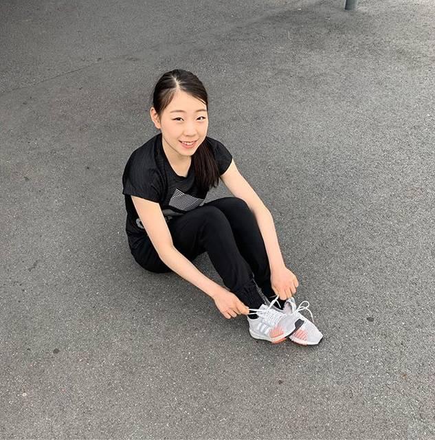 "Rika Kihira 紀平梨花 on Instagram: ""#PULSEBOOST でトレーニング🏃♀️ #createdwithadidas @adidastokyo #switzerland"" (692621)"