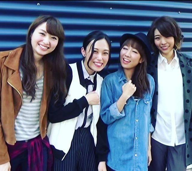 "Sphere on Instagram: ""Pretty 😍💛💜❤💚#Minakokotobuki #akitoyosaki #ayahitakagaki #harukatomatsu #sphere #スフィア #寿美菜子 #豊崎愛生 #戸松遥 #高垣彩陽#seiyuu #japan #anime"" (694228)"