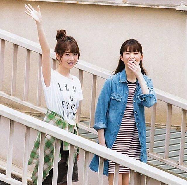 "@nogi__visual on Instagram: ""#橋本奈々未 #松村沙友理 #乃木坂46"" (694625)"