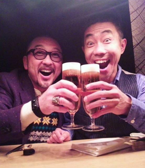 "makoto on Instagram: ""参考にしてます🍻#大久保篤志 #木梨憲武 #シルエット #配色 #着崩し #感"" (695922)"