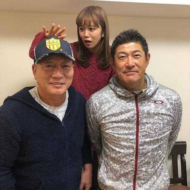 """Yutaka Takagi on Instagram: """"ゲスト石井琢朗^_^#いんすたばえ #石井琢朗#高木豊#野球#涼しい"""" (700412)"""