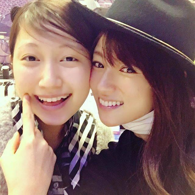 """深田恭子 on Instagram: """"私の妹(的)いとちゃん🎀これ言うと本当の妹がいつもヤキモチ焼く(笑)😝#大野いと #kyokofukada"""" (701179)"""