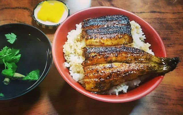 """横山🐲太郎 on Instagram: """"今日は【土用の丑の日】 愛知で鰻と言えば「三河一色産うなぎ」と「ひつまぶし」が有名ですが、ここ知立市も弘法さんの日に鰻を食べる風習があり馴染みの食べ物です。 今日は知立駅近くの老舗鰻屋「井谷家」さんで上うな丼を食べてきました。…"""" (702827)"""