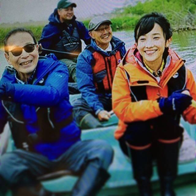 "Anda Hiroyuki on Instagram: ""#ブラタモリ #釧路湿原 #タモリさん #林田理沙 さん #林田アナ #林田キャスター"" (703845)"