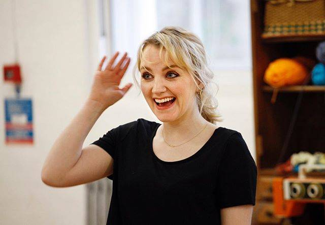 "Evanna Lynch on Instagram: ""Mood every day during rehearsals for The Omission of the Family Coleman. 😀 The hardest part of this job is trying not to collapse into…"" (704202)"
