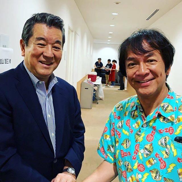 "Minoru Kawasaki on Instagram: ""#ロバフェス にて#加山雄三 さんと初めてお話できた!イキナリ若大将のパンフをガン見されていたほか、濃厚すぎる時間!"" (704397)"