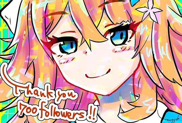 "@tamagoyaki1989 on Instagram: ""My followers became over 700 at Twitter. Panting for them.#art #digitalart #illustration #virtualyoutuber #vtuber #nijisanji #にじさんじ #御伽原江良"" (708598)"