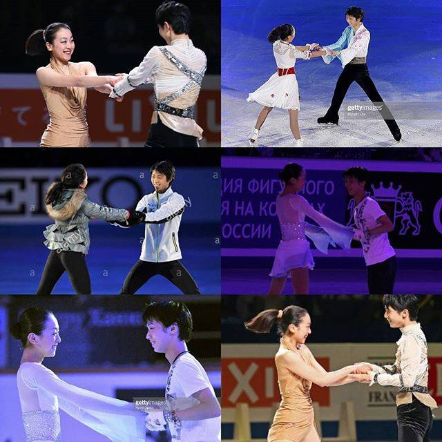"羽生結弦 Yuzuru Hanyu on Instagram: ""YUZURU HANYU AND MAO ASADA 😍😍😍 Happy bday Maooo!!! ❣ • These two cuties have been friends before most of us even knew who Yuzu was... Mao…"" (738115)"