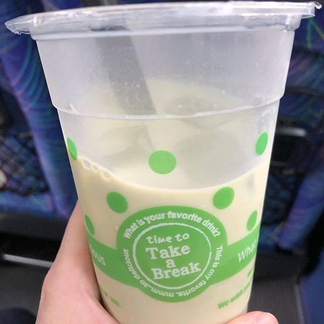 """uちゃん on Instagram: """"#たぴかつ #抹茶ミルク #カフェドアッシュ"""" (745302)"""