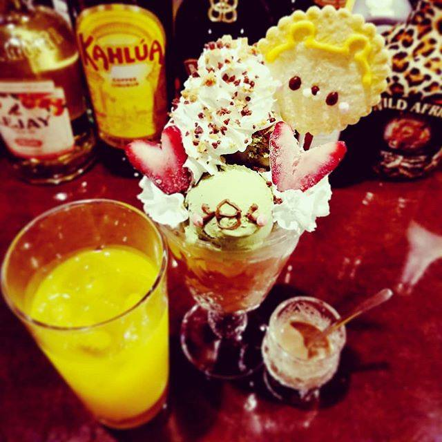 """やださん/yadasun on Instagram: """"I'm here Sweets bar Melty. びっくりドンキーでハンバーグ食べた後に来てるよ~  #sweetsbarmelty #スイーツバーMelty #シメパフェ #〆パフェ #parfait #パフェおいしい #hokkaido #Sapporo…"""" (745729)"""