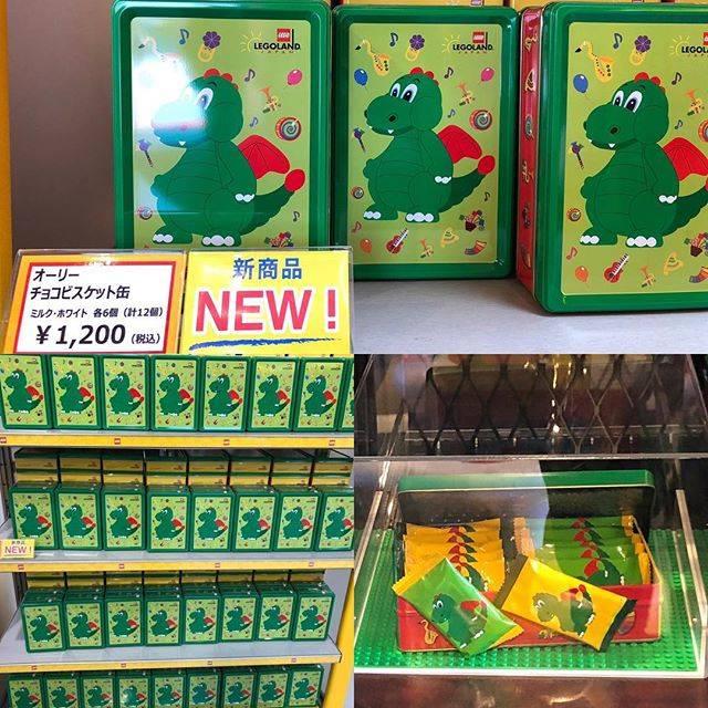 "LEGOLAND JAPAN  Walker on Instagram: ""4/27 LEGOLAND Japan新商品[オーリー チョコビスケット缶(¥1,200)]#legolandjapan#legoland#レゴランドジャパン #レゴランド"" (748582)"