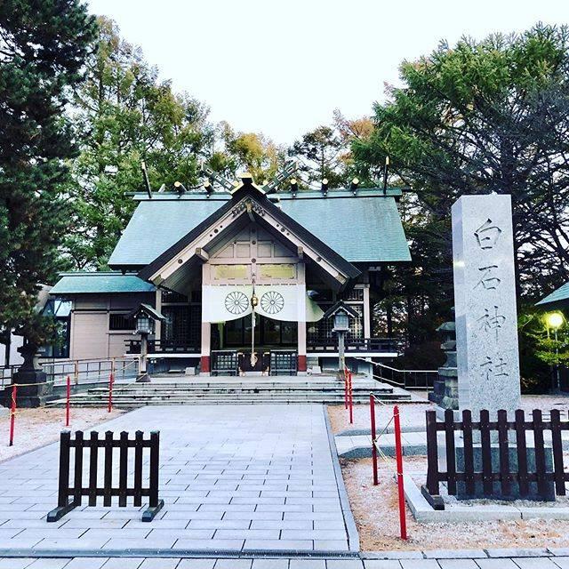 """pochi on Instagram: """"#白石神社 #白石歴しるべ #白石区 #札幌市 #北海道 https://walking.style/walk/764228/"""" (749042)"""