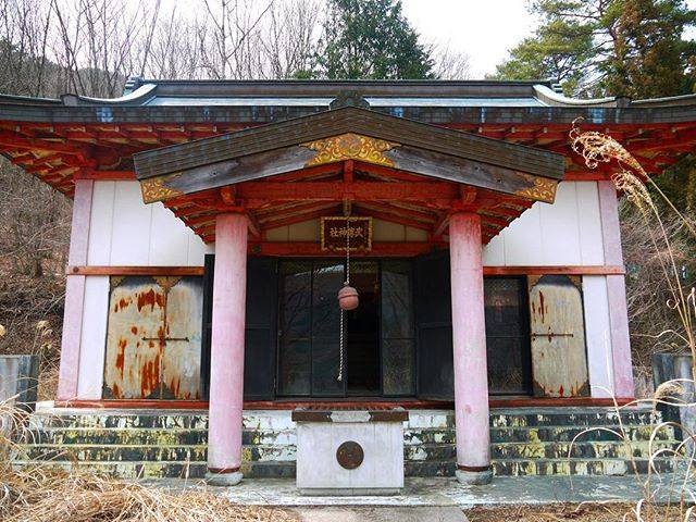 "Cheshire Cat on Instagram: ""#群馬 #武尊神社 #神社 #廃墟"" (751576)"