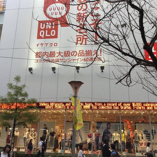 "mitsuko on Instagram: ""#ユニクロ池袋サンシャイン60通り店#ユニクロ池袋サンシャイン60通り#東京写真部"" (760709)"
