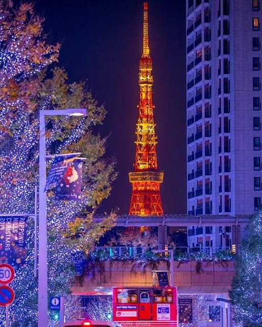 "KAZUKI on Instagram: ""東京タワー×イルミネーション * * Camera : Canon EOS 6D Mark II Lens :  EF70-200mm F2.8L III USM Filming Conditions:SS1/30 F2.8 ISO800 Location : 東京都港区…"" (763545)"