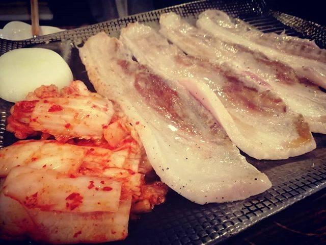 "m.w. on Instagram: ""久し振りに新大久保へ😋#pic #korea #foodstagram #サムギョプサル #今度は明洞 #thankyou"" (763798)"
