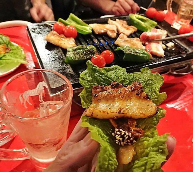"Koichi Fukuda on Instagram: ""久しぶりに焼き肉とサムギョプサル。これから忘年会だからカロリーコントロール、難しいよ。 #ちょいと寄り道 #立ち飲み #角打ち巡礼 #せんべろ #サムギョプサル"" (763918)"