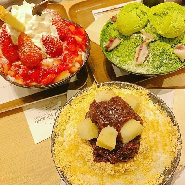 "saya on Instagram: ""若い子と出かけたら気分も若返った😊💕 Famous fluffy ice from Korea😳 #sulbinghakata #fluffy #yum #korean #お出かけ #博多駅 #ソルビン博多"" (765161)"