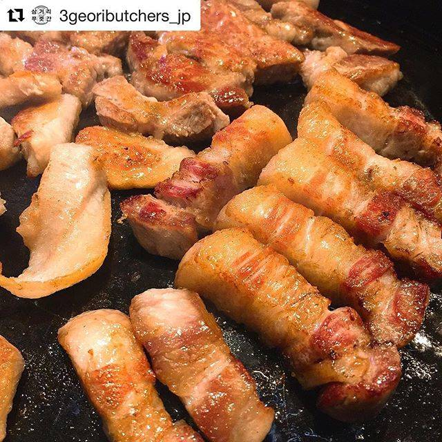 "YG JAPAN Official on Instagram: ""#Repost @3geoributchers_jp 🐖サムゴリプジュッカン東京! 本日3月16日11時グランドオープン! 今日から渋谷で食べたれます!! #サムゴリプジュッカン東京 #3geoributcherstokyo…"" (765432)"