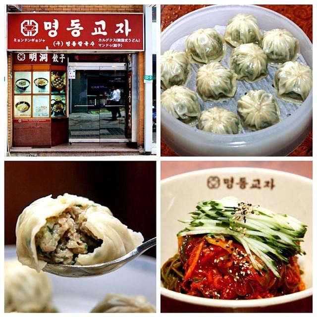 """HARUKA NAGAKURA on Instagram: """"韓国オススメのお店をご紹介🙋🇰🇷❤️ 明洞(ミョンドン)にある""""明洞餃子""""😋❤️知ってる方も多いと思います!店内はいつもたくさんの人です!ここのキムチは辛いけど美味しいです😍👍 マンドゥは豚肉と野菜がたっぷりです😋他のメニューもおいしい😋 オススメです❤️#korea #韓国…"""" (765959)"""