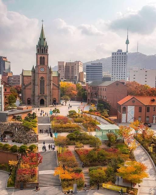 """@visitseoul_official_jp on Instagram: """"【明洞聖堂】韓国で初めて建築されたゴシック様式の建物 📸@foto_jinb…"""" (765963)"""