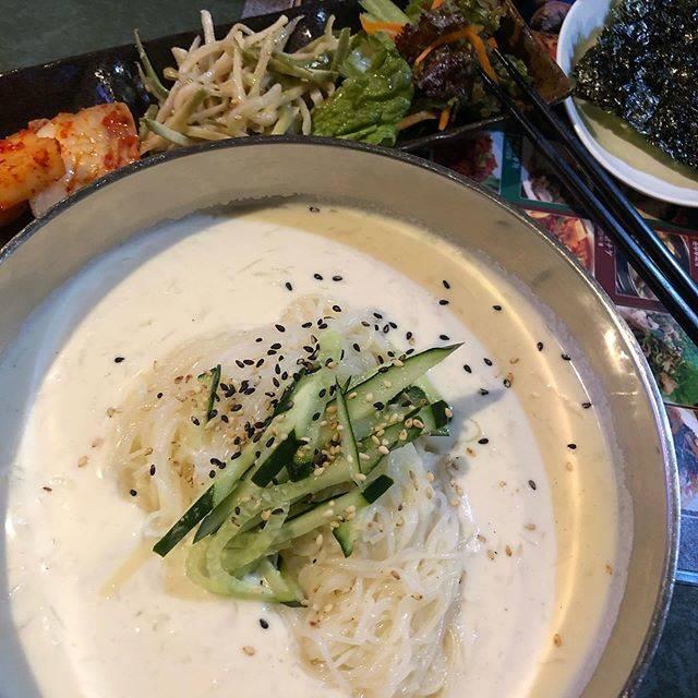 """うな Love JKS on Instagram: """"コングクス季節物なので、食べてみた暑かったのでさっぱりして、帰りが涼しく感じられたわ😄😋 #新大久保#コングクス"""" (765982)"""