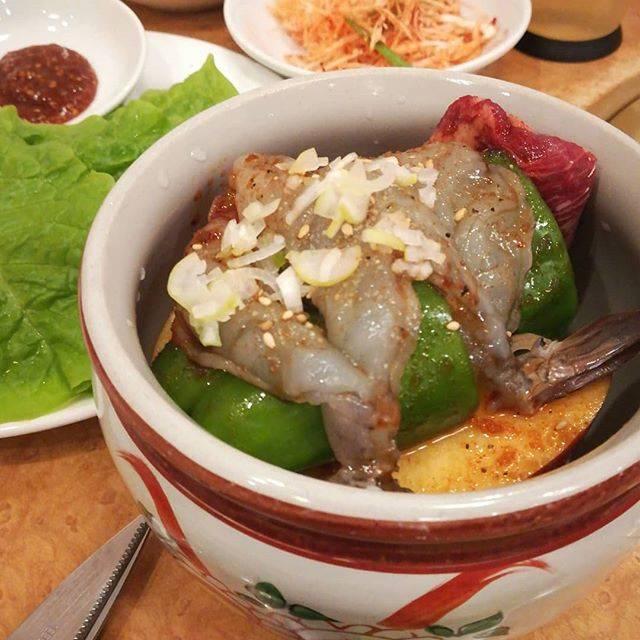 """Wataru Sasaki on Instagram: """"Fantastic Korean BBQ we had last week.#koreanbbq #壺漬けカルビ"""" (766249)"""