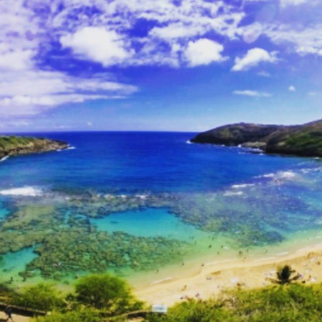 """@licocohawaii on Instagram: """"只今のハワイ、気温が28度。綺麗な青空が広がっています。今日も素晴らしい1日をお過ごし下さい。 #ワイキキ #ホノルル #ハワイ #ハワイ日本語対応 #ホットストーン #ワイキキ免税店 #カマアイナ #ハワイ観光 #時差ボケ防止 #ハワイロミロミマッサージ #ハワイフットバス…"""" (767738)"""
